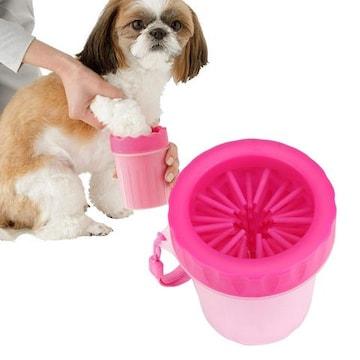 犬 足洗い ブラシカップ