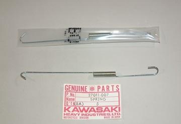 川崎 B1 B1L Z650H Z750K ブレーキスイッチ・スプリング 絶版