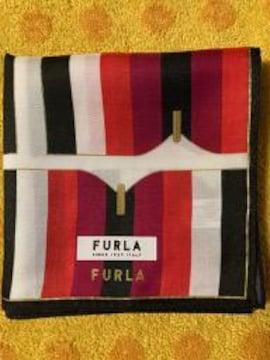 フルラ シルクスカーフ brg