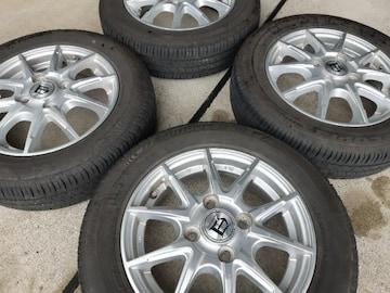 155/65R13 夏タイヤ、アルミホイール4本セット