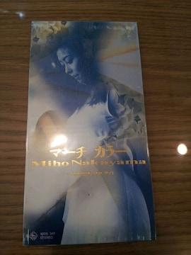 中山美穂*マーチカラー☆CDシングル美品*SHININGFORYOU◯