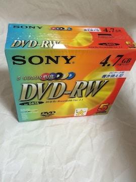 sony 日本製 dvd-rw 未開封 レア 新品