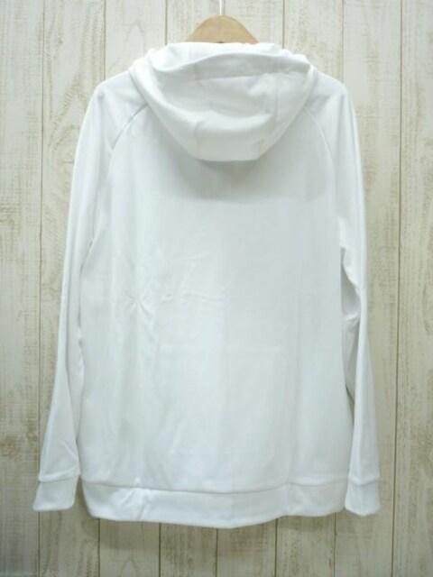 即決☆ナイキ特価 サーマ スウェットパーカー WHT/XXL 裏起毛 保温 < 男性ファッションの