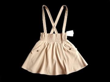 新品 ページボーイ PAGEBOY アリシア サスペ付き スカート