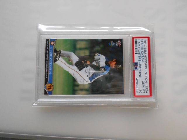 大谷翔平 BBM 2013 PITCHING PSA10 GEM MINT  < トレーディングカードの