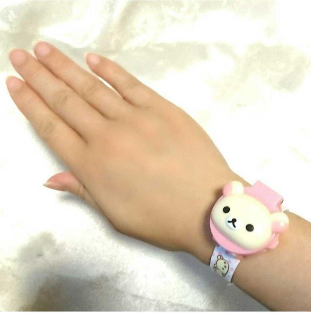 新品 コリラックマ 可愛い 腕時計 キッズ レディース リラックマ < 女性アクセサリー/時計の