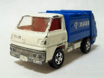絶版トミカ��47 〓キャンター〓清掃車〓