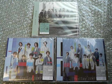 Hey!Say!JUMP【OVER THE TOP/Give Me Love】初回盤3枚set/新品