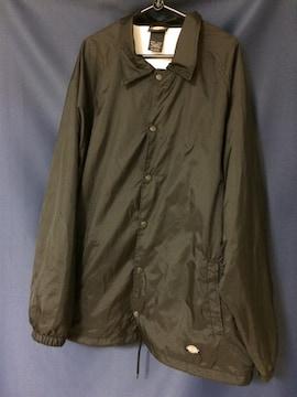デッキーズ コーチジャケット ブラック 美品 ほぼ新品
