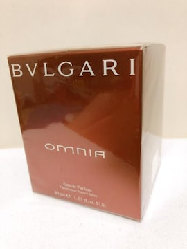 BVLGARI ブルガリ omunia オムニア 激レア香水 40ml 新品未開封