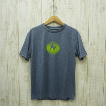 即決☆マーモット特価MARKロゴ半袖Tシャツ DN/XLサイズ 新品