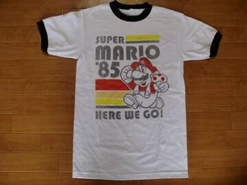 スーパーマリオブラザーズ オフィシャル Tシャツ USA−S