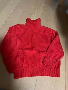 オーシャン&グラウンド 女の子用 ハイネックセーター
