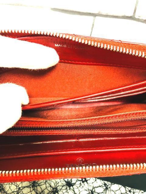 正規品★超美品 シャネル マトラッセ赤 ラウンドジップ長財布 < ブランドの
