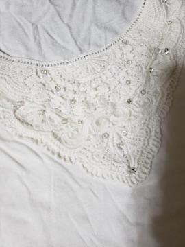 ★JUSGLITTY★ホワイトTシャツ★サイズ2★