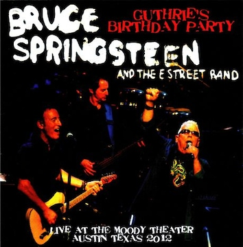 【送料無料】ブルーススプリングスティーン Texas,USA 2012 2CD