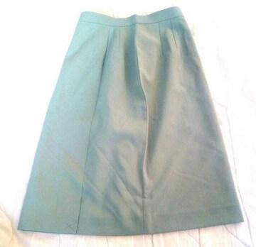 新品 ETOLARL スカート 9号 グリーン タグ付き 未使用品