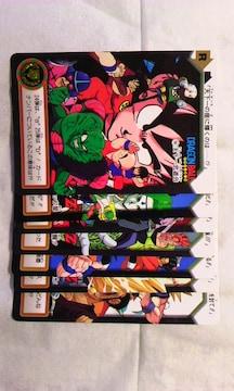 ドラゴンボール・カードダス1995カード7枚