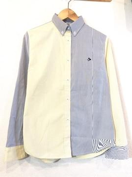 MOUSSY×DISNEY■シャツ■クレイジー■マウジー■コラボ■黄紺