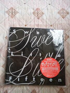 YUKI すてきな15才 完全生産限定版Tシャツ&ビニールケース ※CD無し