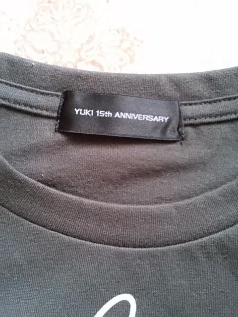 YUKI すてきな15才 完全生産限定版Tシャツ&ビニールケース ※CD無し < タレントグッズの