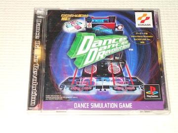 PS★ダンスダンスレボリューション★箱付・説明書付・ソフト付