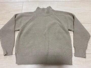 美品 ロペピクニック ニット セーター ベージュ系 38