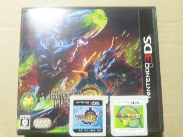 【送料無料3DS専用set】マリオオープンテニス+モンスター  < ゲーム本体/ソフトの