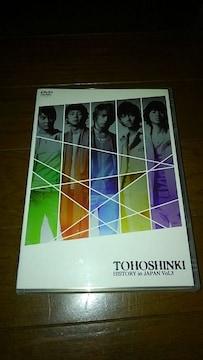 DVDソフト 東方神起 ヒストリー イン ジャパン Vol.3