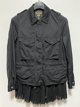 □美品《DIESEL/ディーゼル》綿ジャケット 黒□