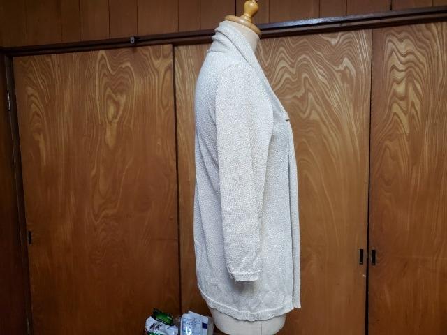ゴールドのカーデガン used < 女性ファッションの