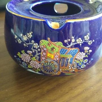 九谷灰皿 絵柄