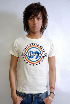 89hollywood FREESTYLE Tシャツ/白S SANFORD