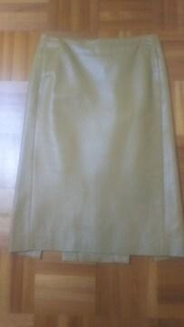 INTER PLANET羊革スカート
