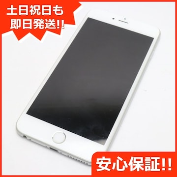 ●●美品●SOFTBANK iPhone6S PLUS 64GB シルバー●