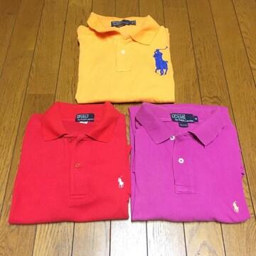 ポロラルフローレン ポロシャツ 3枚セット M
