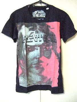 ◆DIESEL◆ディーゼル◆プリントTシャツ◆新品◆S◆