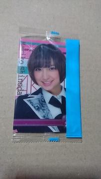 篠田麻里子 AKB48・ウェハースチョコ おまけカード。