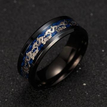 ブラック リング 指輪 アクセサリー ステンレス
