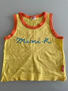 MINI-K タンクトップ サイズ120 男女OK
