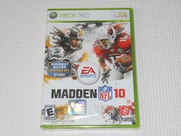 xbox360★MADDEN NFL 10 海外版(国内本体動作可能)