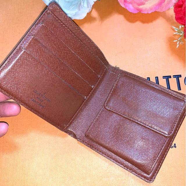正規品LOUIS VUITTON定番人気モノグラム柄2つ折財布☆ < ブランドの