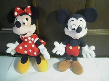 ミッキー&ミニーちゃんの縫いぐるみ☆