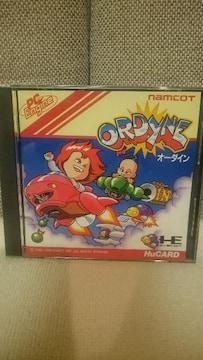 中古 PCエンジン Huカード オーダイン ナムコ 1989
