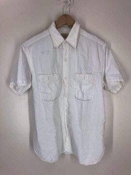 BUZZ RICKSONS(バズリクソンズ)WHITE CHAMBRAY S/S WORK SHIRT シャンブ