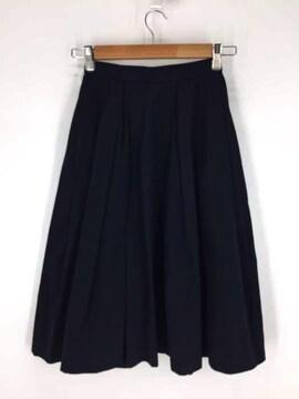 ENFOLD(エンフォルド)グログランボックスフレア スカートフレアスカート