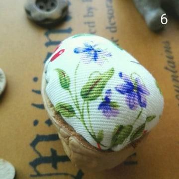 handmade》胡桃のピンクッション◆針山◆お裁縫◆くるみ・6