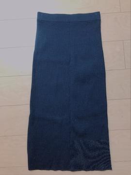 UNIQLO☆黒ニットタイトスカート