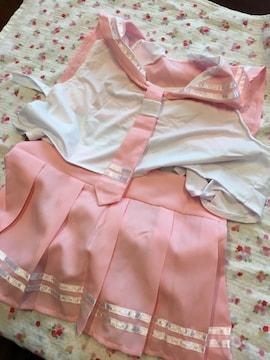 ミニスカートのピンクのセーラー服☆。.:*コスプレ衣装♪