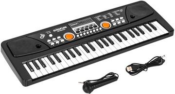 お子様にも適したお手軽なキーボード楽器です。
